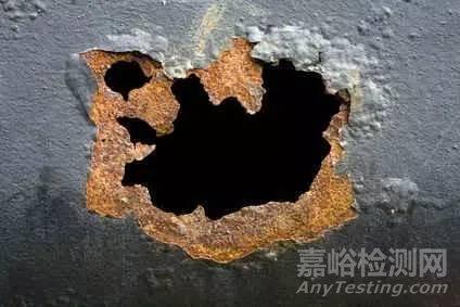 不锈钢的局部腐蚀